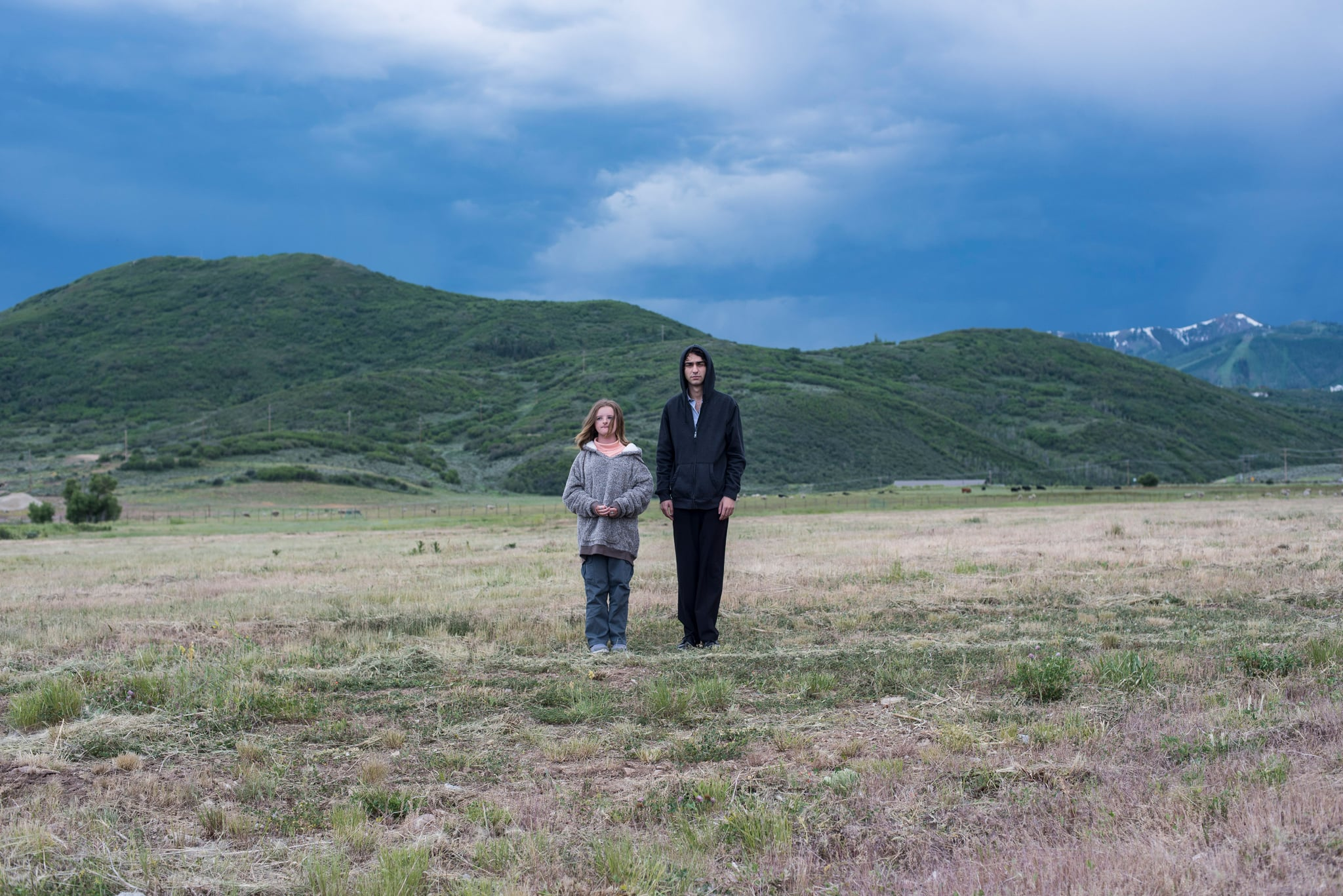 HEREDITARY, from leftz: Milly Shapiro, Alex Wolff, 2018. ph: Reid Chavis / A24 /Courtesy Everett Collection