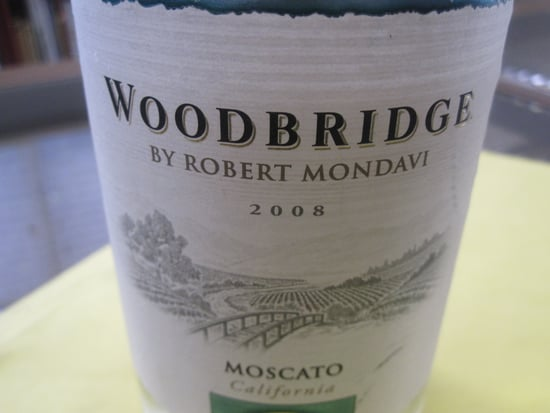Review of Woodbridge by Robert Mondavi 2008 Moscato