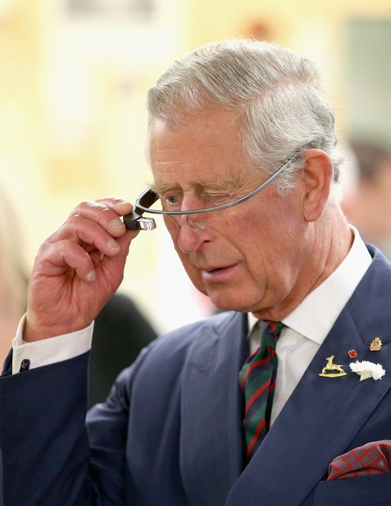 Celebrities Wearing Google Glass