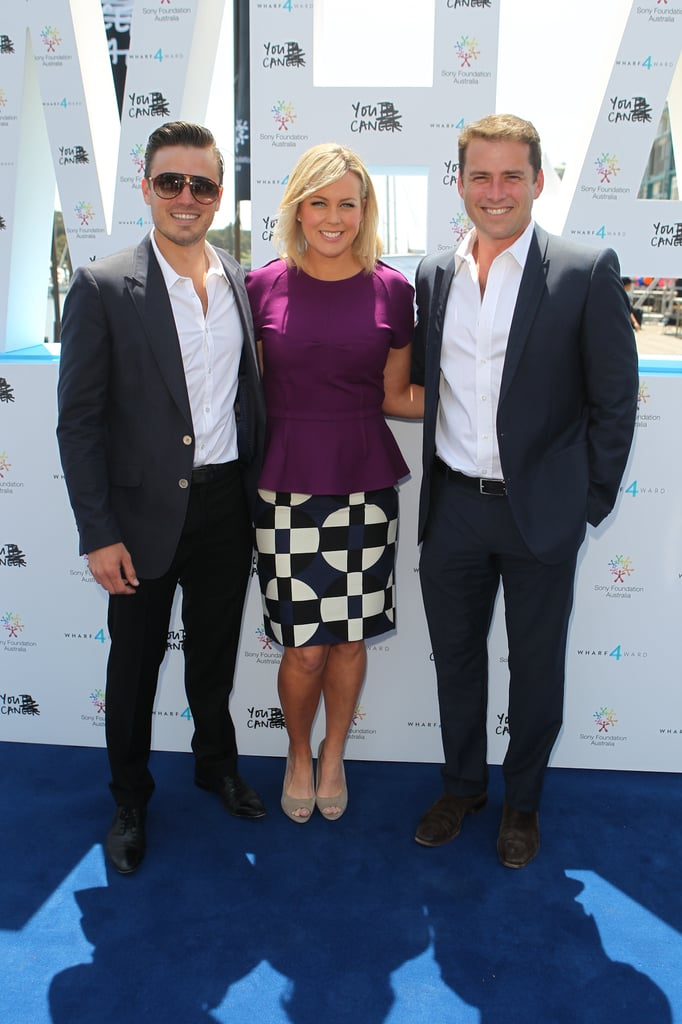 James Tobin, Samantha Armytage and Karl Stefanovic