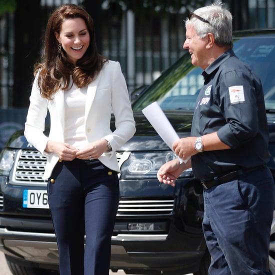 Kate Middleton's J.Crew Nautical Pants