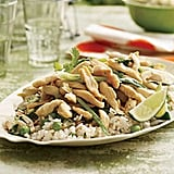 Lime Rickey Chicky and Buttered Almond Rice