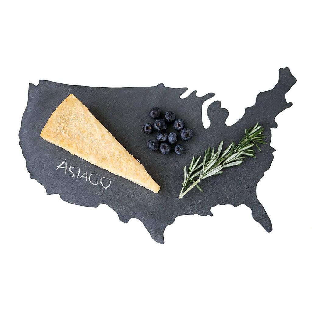 State Slate Cheese Board