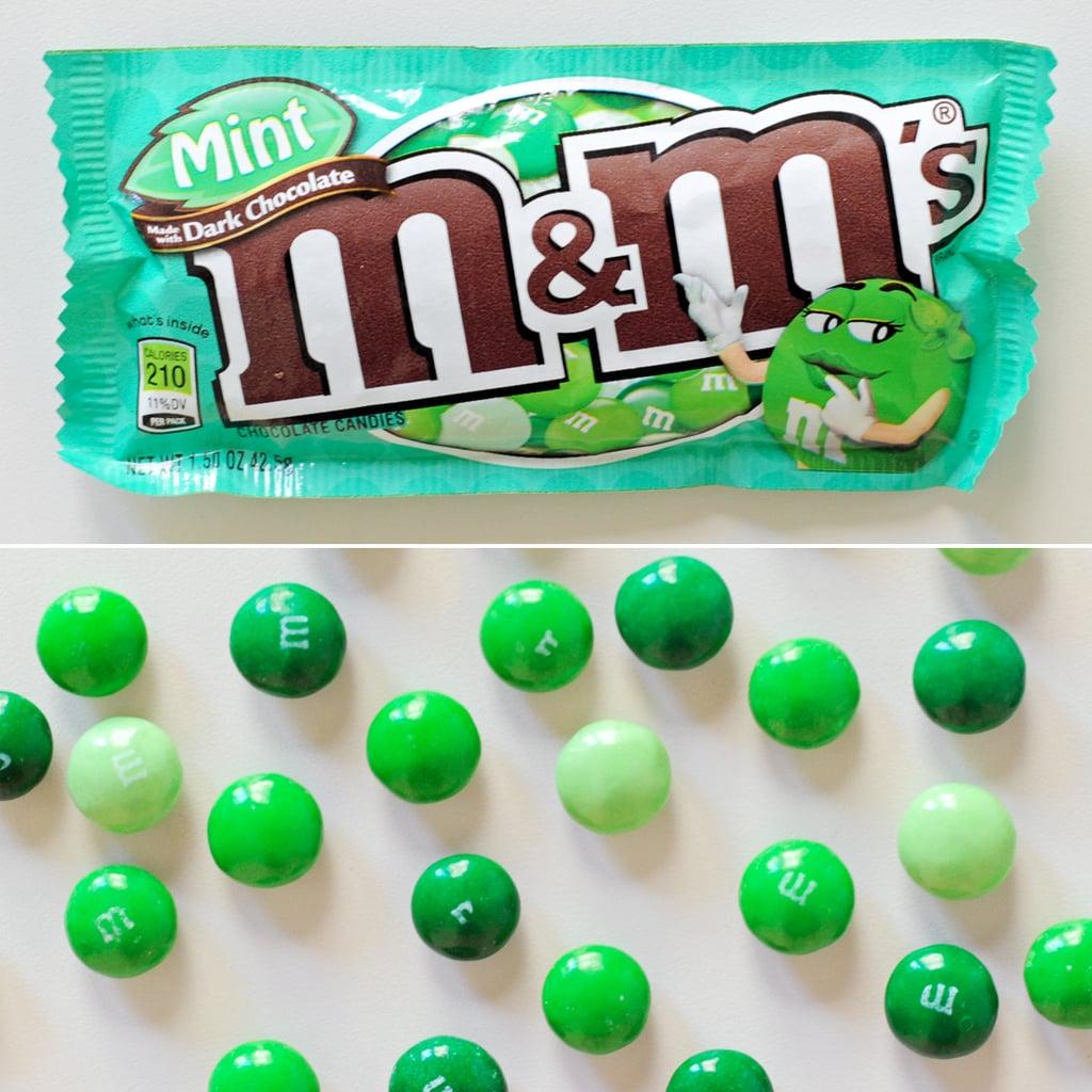 Dark Mint M&M's