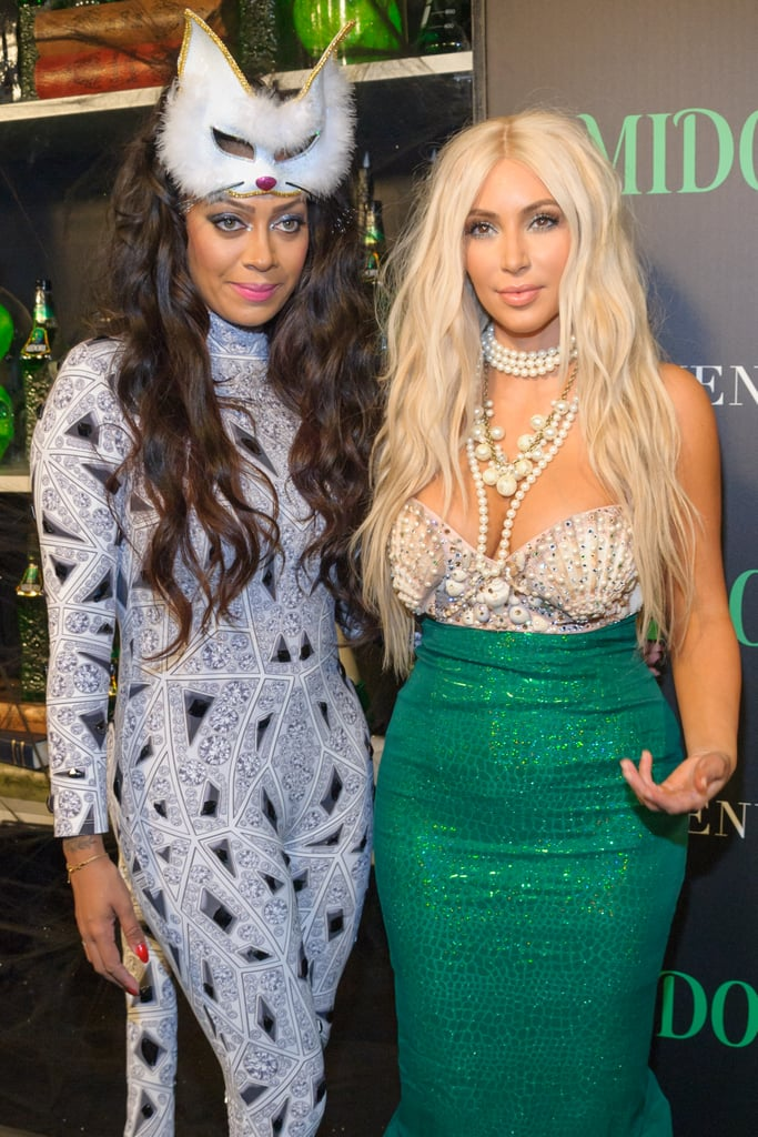 Lala Vasquez and Kim Kardashian posed at a party in NYC in 2012.