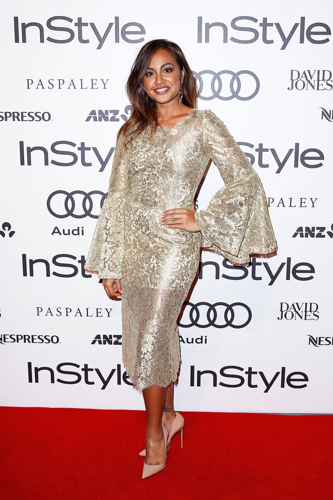 Jessica Mauboy in Dolce & Gabbana at the 2014 Instyle and Audi Women of Style Awards