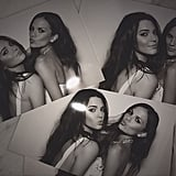 Kendall Jenner shared a few of her wedding photo-booth snaps.