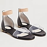 The two-tone Givenchy Women's Transparent Sandals ($690) ensures your shoes never go unnoticed.