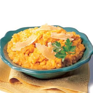 Fast & Easy Dinner: 15-Minute Pumpkin Risotto