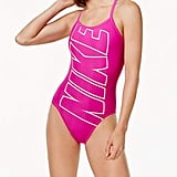 There's no doubt about the logo on the Nike Logo Racerback One-Piece Swimsuit Women's Swimsuit ($49, originally $66).