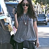 Megan Fox stepped out in LA for a Monday lunch outing.