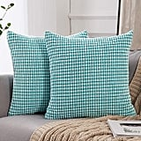 Miulee Pack of 2 Decorative Throw Pillow Covers