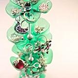Plastic-Bottle Jewellery Stand