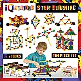 For 6-Year-Olds: IQ BUILDER STEM Learning Toys Fun Educational Building Blocks Toy Set