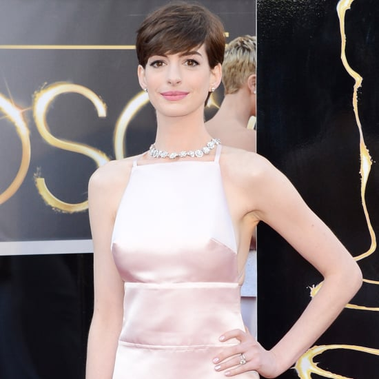 Anne Hathaway's Three Wardrobe Changes For Oscars Night