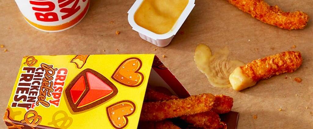 Burger King Crispy Pretzel Chicken Fries