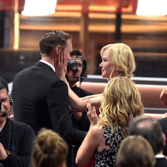 Nicole Kidman Kissing Alexander Skarsgard at the 2017 Emmys