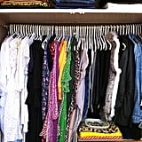 """I think this one speaks for itself — """"Too many clothes!!!!"""" But the key really is having everything where you can see it. Otherwise it's neglected."""