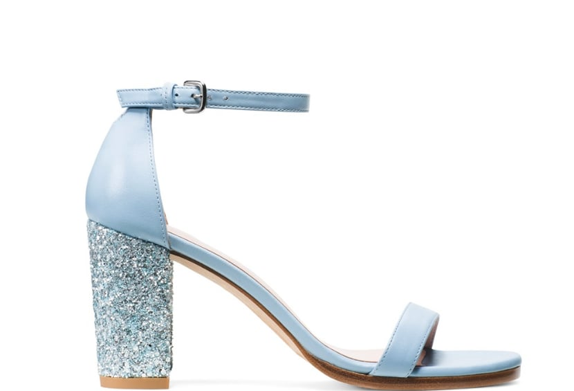 Nearlynude Sandal in Nappa Leather Azure ($398)