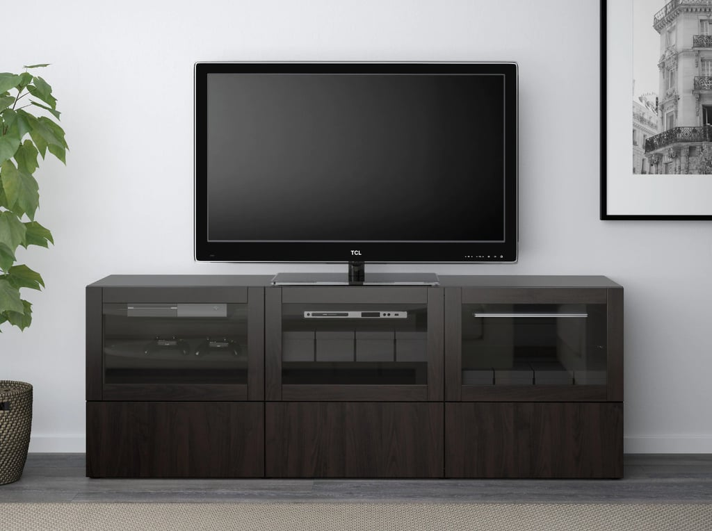 Besta Tv Unit With Doors And Drawers Best Ikea Living Room
