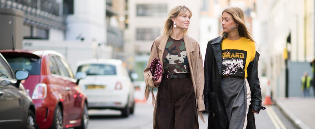 The Fashion Crowd Is Hitting London's Streets in Style