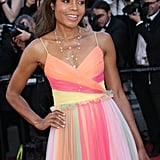 Naomie Harris looked radiant at the debut of Ismael's Ghosts in 2017.