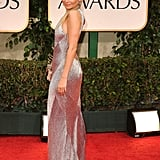 Nicole Richie showed off the back of her dress.