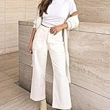 DL1961 x Marianna Hewitt Hepburn High Waist Wide Leg Jeans