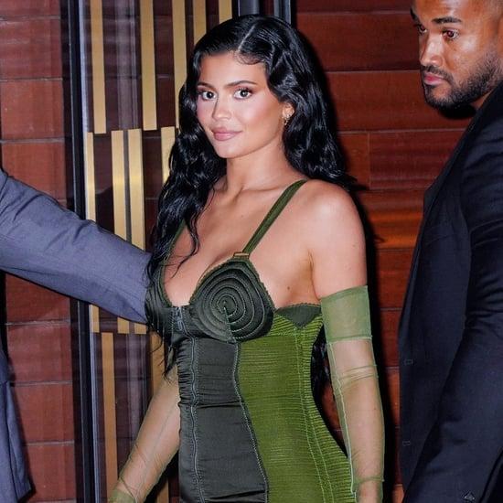 Kylie Jenner's Jean Paul Gaultier Dress at Parsons Benefit