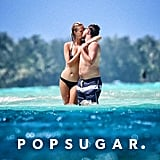 While vacationing in Bora Bora in April 2014, Leonardo DiCaprio and his then-girlfriend, model Toni Garrn, made out in the ocean.