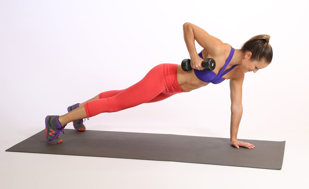 Circuit Two: Plank With Row