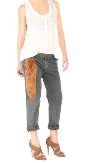 Faux Fox Tail Accessory