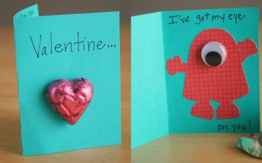 Monster Valentine Cards