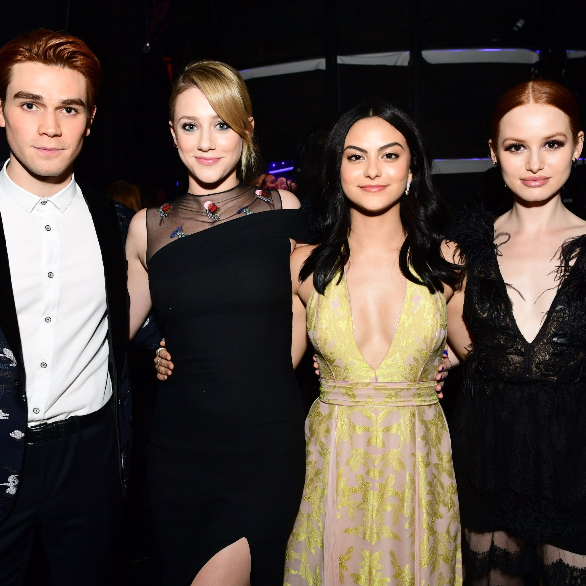 Kj apa popsugar celebrity riverdale cast at american music awards 2017 m4hsunfo