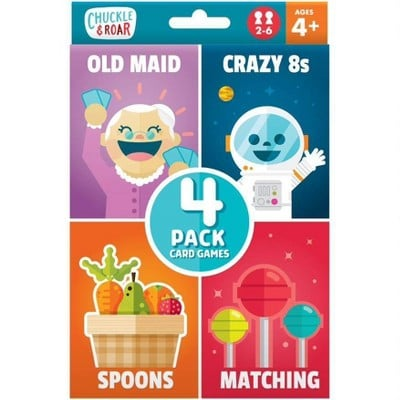 Chuckle & Roar 4pk of Classic Card Games