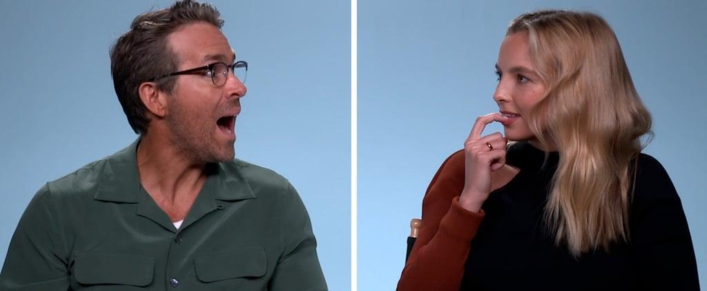 Free Guy's Ryan Reynolds, Jodie Comer Take POPSUGAR Pop Quiz