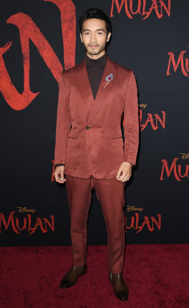 Yoson An at the World Premiere of Mulan in LA