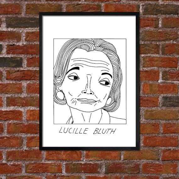 Lucille Bluth Doodle