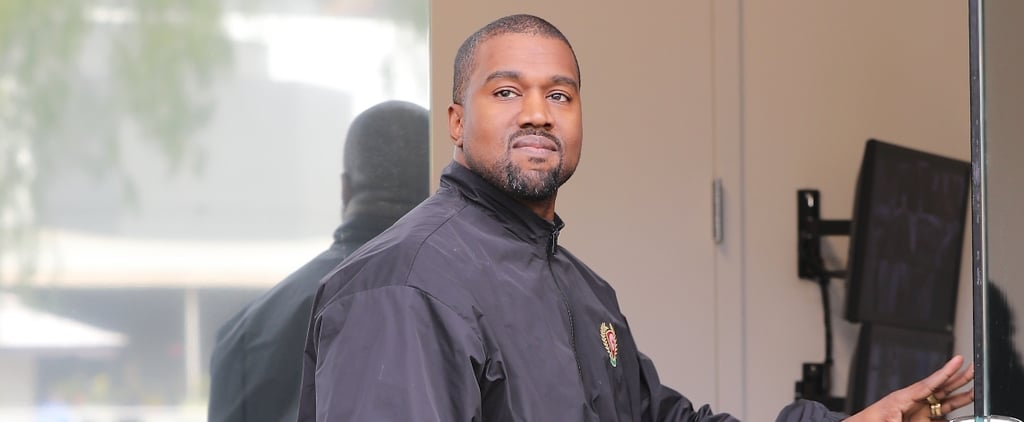 Aw! Kanye West Can't Hide His Smile After Becoming a Father of 3