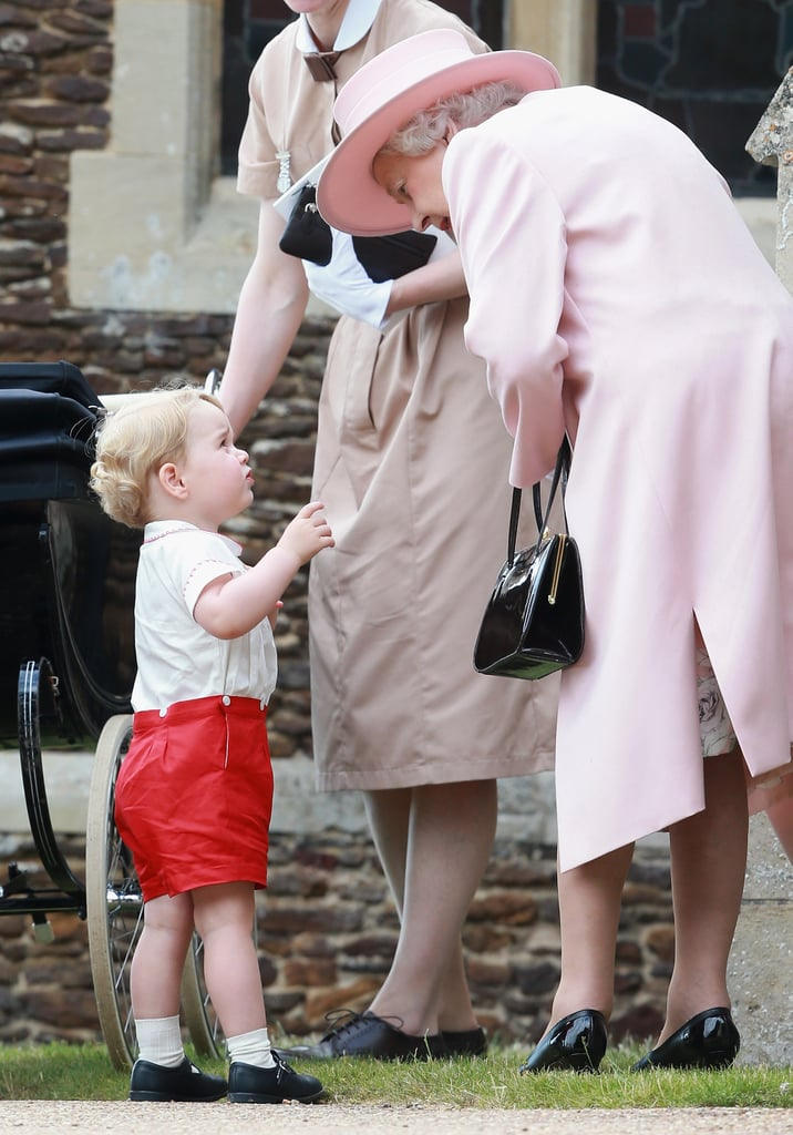 Kate Middleton on The Queen's Visit After Charlotte's Birth