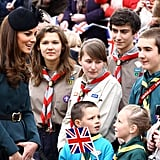 Kate Middleton Greeting the Crowd 2012