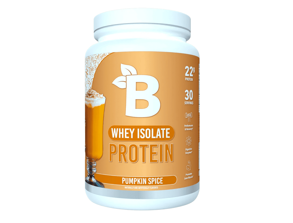 Bloom Nutrition Whey Isolate Protein in Pumpkin Spice