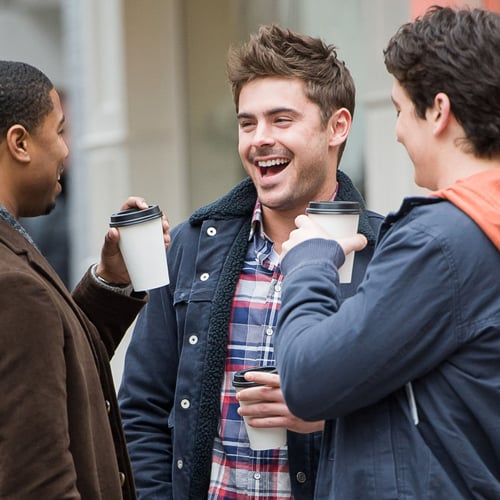 Zac Efron Filming Are We Officially Dating | Pictures