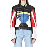 Vetements Colorblock Leather Biker Jacket ($3,210)