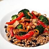 Tofu and Farro Stir-Fry