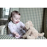 When Charlotte Cracked Up With Her Stuffed Animal