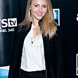 AnnaSophia Robb kept it simple at the DirecTV party.