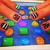 Candy Crush manicure, anyone? Source: Instagram user tenoverten_nyc