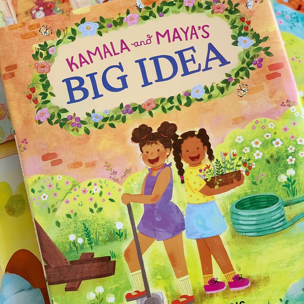 Meena Harris Inclusive Kids' Book Kamala and Maya's Big Idea
