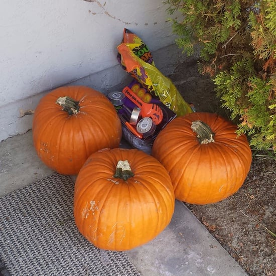 Stranger Buys Pumpkins and Candy For Kids